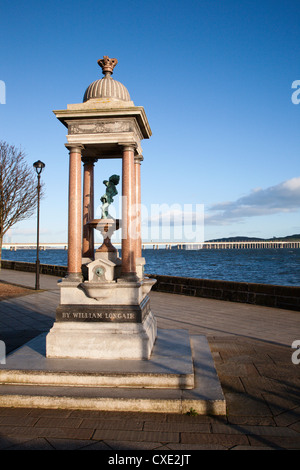 Drinking Fountain, Discovery Point, Dundee, Scotland - Stock Photo