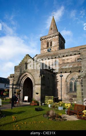 Holy Trinity Church on South Street, St Andrews, Fife, Scotland - Stock Photo