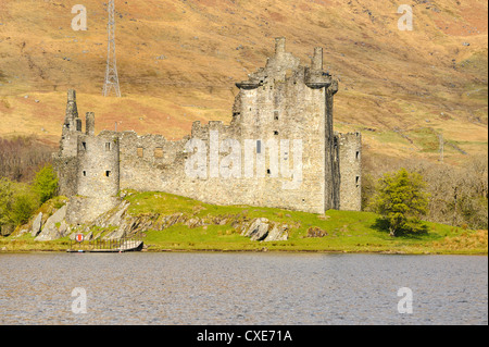 Kilchurn Castle, Loch Awe, Argyll and Bute, Scottish Highlands, Scotland - Stock Photo