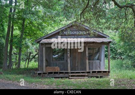 Boone Hall Plantation near Charleston, South Carolina. Movie set for Alex Haley film 'Queen'. - Stock Photo