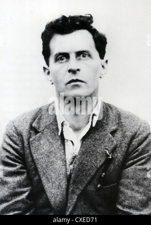 LUDWIG WITTGENSTEIN (1889-1951) Anglo-Austrian philosopher - Stock Photo