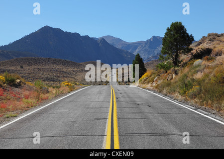 The road went off - Stock Photo