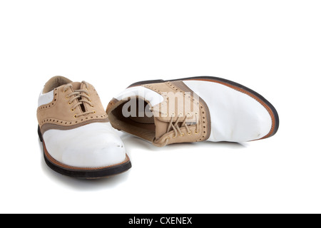 A pair of cleats stock photo royalty free image 2437179 alamy a pair of golf cleats on a white background stock photo ccuart Choice Image