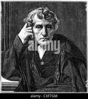 Luigi Carlo Zenobio Salvatore Maria Cherubini, 1760 - 1842, Italian composer, - Stock Photo