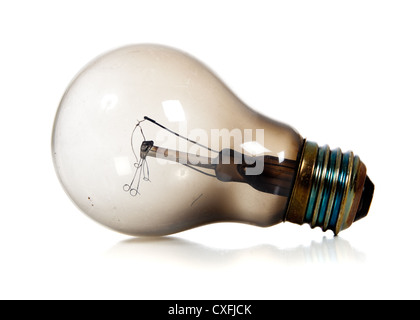 Burned Out Light Bulb Stock Photo Royalty Free Image