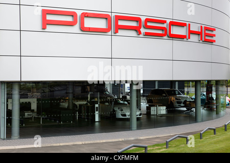 The porsche centre glasgow at braehead near renfrew in scotland uk the porsche centre glasgow at braehead near renfrew in scotland uk stock photo sciox Image collections