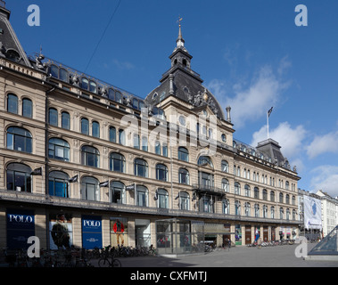 The old historic and well-known department store Magasin du Nord (main department) at Kongens Nytorv in Copenhagen, - Stock Photo