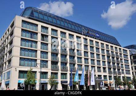 Radisson Blu hotel Berlin Germany - Stock Photo