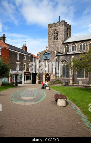 St Gregorys Centre for the Arts Pottergate Square Norwich Norfolk England - Stock Photo