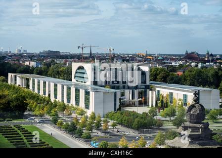 Bundeskanzleramt, German Chancellery, Regierungsviertel, Berlin, Germany, Europe - Stock Photo