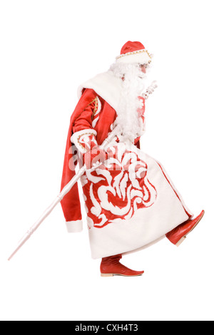 Funny Ded Moroz (Father Frost) - Stock Photo
