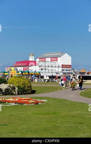 britannia pier and theatre great yarmouth norfolk uk - Stock Photo