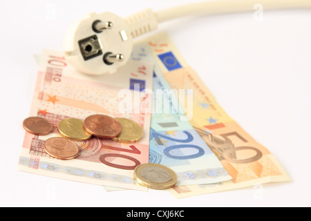 Electricity rate - Stock Photo