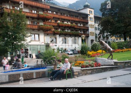 Mayrhofen, Zillertal, Tyrol, Austria - Stock Photo