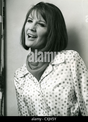 SANDIE SHAW UK pop singer about 1965. Photo: Tony Gale - Stock Photo