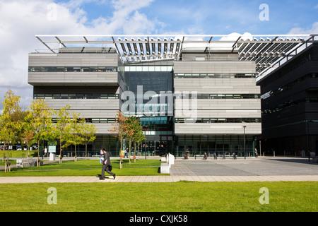 Alan Turing Building,( School of Mathematics), University of Manchester campus, Manchester, England, UK - Stock Photo