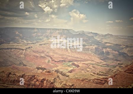 Lipan Point, Grand Canyon National Park, Arizona, USA - Stock Photo