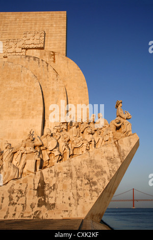 Padrão dos Descobrimentos Monument, Lisbon, Portugal - Stock Photo