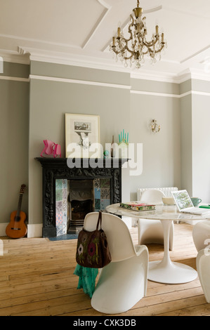 North London Victorian conversion and family home - Stock Photo
