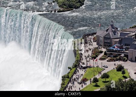 The Horseshoe Falls at Niagara Falls, Ontario, Canada - Stock Photo