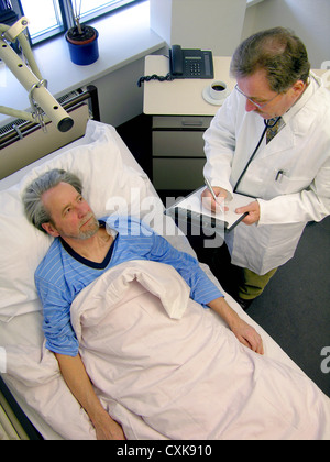 Doctor's visit in the hospital