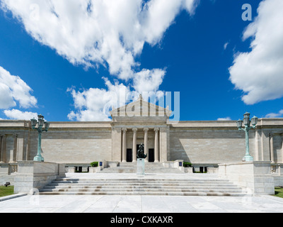 Southern facade of the Cleveland Museum of Art, University Circle district, Ohio, USA - Stock Photo