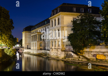Hannover Leineschloss - Landtag of Lower Saxony, Germany - Stock Photo