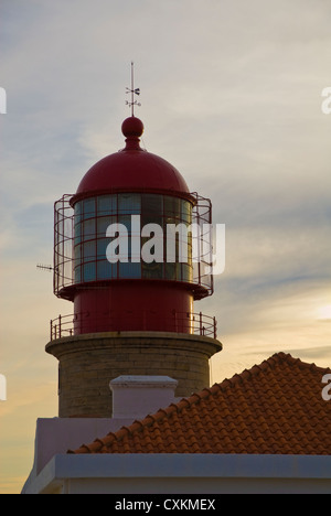 lighthouse cabo de sao vicente algarve portugal europe