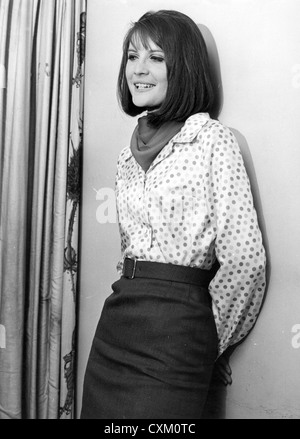 SANDIE SHAW UK pop singer in May 1966 - Stock Photo
