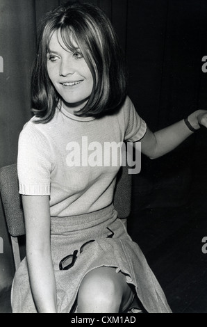 SANDIE SHAW  UK pop singer in April 1967. - Stock Photo