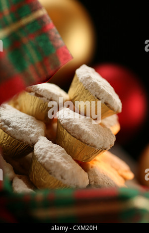 Christmas Mince Pies - Stock Photo