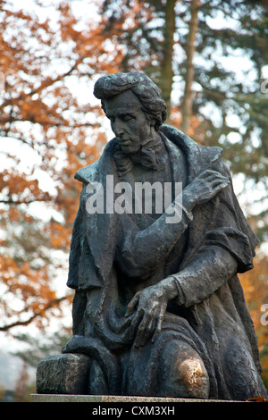 Zelazowa Wola, historical  place,  where was born Fryderyk Chopin, Poland. Now Museum of Frederic Chopin. - Stock Photo