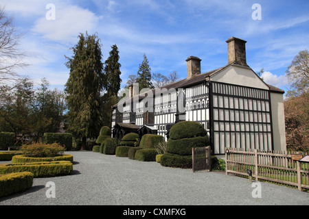 Plas Newydd, Museum, Llangollen, Dee Valley, Denbighshire, North Wales, Wales, United Kingdom - Stock Photo