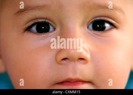 seriously baby boy - Stock Photo