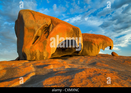 Remarkable Rocks in the first light of the day. - Stock Photo