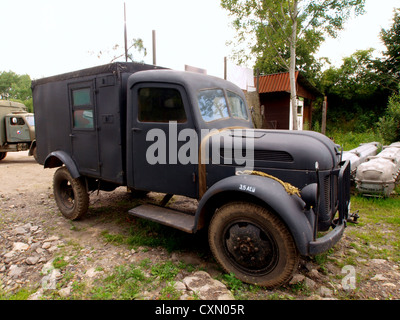 Steyr 1500 radio truck - Stock Photo