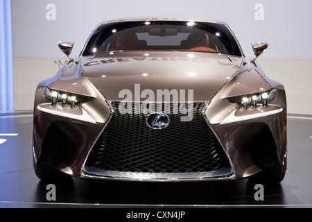Lexus LF-CC at the Paris Motor Show 2012 - Stock Photo