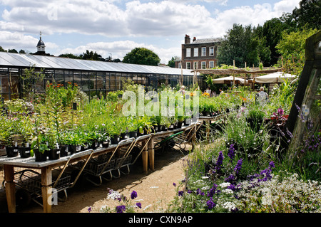 Petersham Nurseries in London, UK - Stock Photo