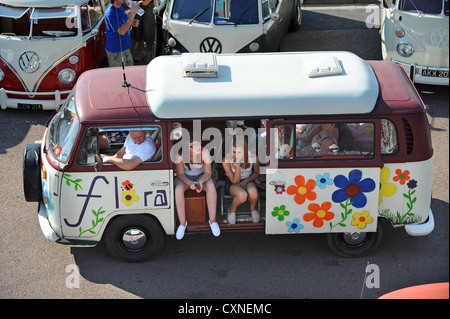 Brighton Breeze 2012  VW rally from London to Brighton - Stock Photo