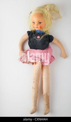 vintage doll - Stock Photo