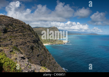 Elk284-1682 Hawaii, Oahu, Makapu'u Point - Stock Photo