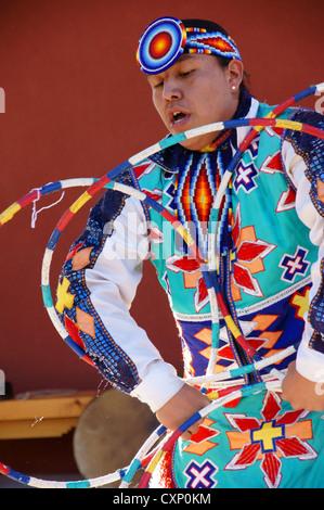 Native American Indian Hoop Dancer Hoop Dance Performance