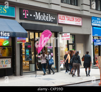 Address, Contact Information, & Hours of Operation for T-Mobile Locations in New York
