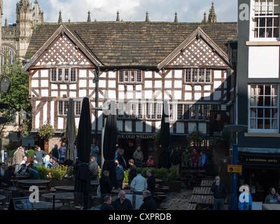 Sinclair's Oyster Bar, Shambles, Manchester - Stock Photo