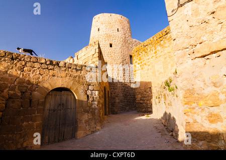 The once vastly Assyrian-Syriac town of Midyat, Mardin province, Southeast Turkey - Stock Photo