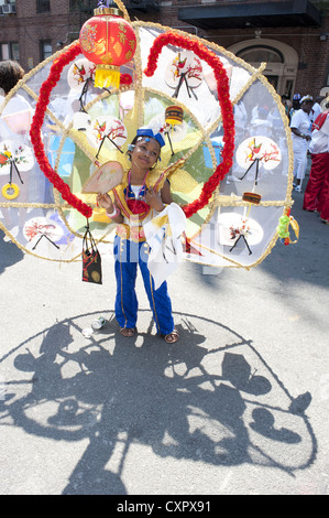 USA: Brooklyn, New York: 2012 Caribbean Kiddies Day parade, Crown Heights. - Stock Photo