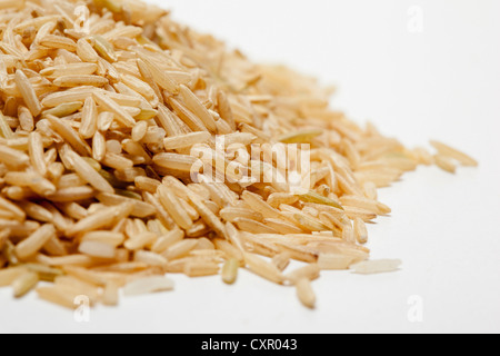 Brown rice - Stock Photo