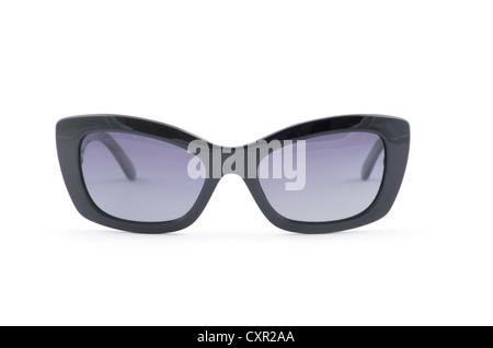 Women's sunglasses isolated on white