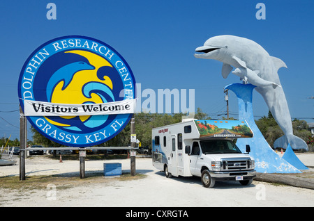 Dolphin Research Center, Grassy Key, Florida, USA - Stock Photo