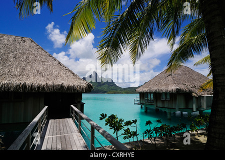 Holiday Resort On Bora Bora Stock Photo Royalty Free